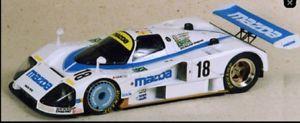 【送料無料】模型車 スポーツカー 18 le124mazda 787bミニチュア124 mazda 787b no 18 le mans miniatures mounted sold