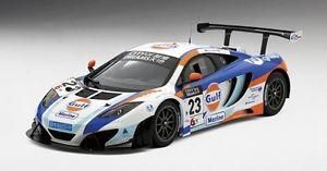 【送料無料】模型車 スポーツカー マクラーレングアテマラ#ユナイテッドオートマカオグランプリモデルmclaren 12c gt3 23 gulf united autosport 2nd place macau gp 2013 118 model