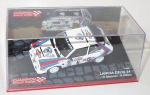 【送料無料】模型車 スポーツカー ランチアデルタマルティニレーシングロンバードラリー143 lancia delta s4 martini racing lombard rac rally 1985 htoivonen