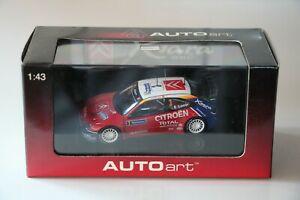 【送料無料】模型車 スポーツカー シトロエンクサララリードフランスローブ#ラリー143 autoart citroen xsara wrc 2004 rally de france s loeb 3 rallye