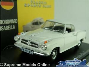 【送料無料】模型車 スポーツカー イザベーペモデルカースケールホワイトクラシックアトラススポーツborgward isabella coupe model car 143 scale white classic atlas norev sports k8