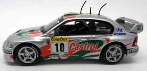 【送料無料】模型車 スポーツカー 143ダイカストrally56ヒュンダイアクセントwrcモンテカルロラリー2001skid 143 scale diecast rally56 hyundai accent wrc monte carlo rally 2001