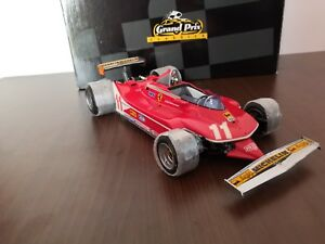 【送料無料】模型車 スポーツカー フェラーリボックスオリジナルミントミントferrari 312t4 exoto 118 ** mint in original box ** mint in box mib **