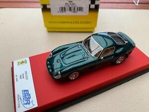【送料無料】模型車 スポーツカー フェラーリグリーンbbr ferrari 250 gto 1962 green 143 red leather 1818