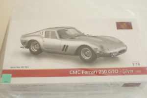 【送料無料】模型車 スポーツカー フェラーリ250gto** cmc m151118nibferrari 250 gto * silver * cmc m151 118 nib