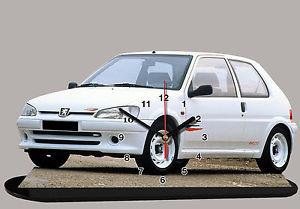 【送料無料】模型車 スポーツカー model carspeugeot 106 rally02 118x 78インチ