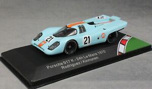 【送料無料】模型車 スポーツカー ポルシェルマンロドリゲスcmr porsche 917k gulf le mans 24 hour 1970 rodriguez amp; kinnunen cmr43008 143