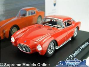 【送料無料】模型車 スポーツカー maserati a6gcs berlinetta pininfarina car model 143 sizered ixo altaya t34zmaserati a6gcs berlinetta pininfarina car model