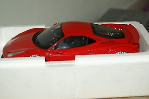 【送料無料】模型車 スポーツカー 118gtフェラーリ458lbリバティーgt084118 gt spirit ferrari 458 lb performance liberty walk gt084