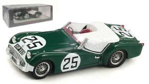 【送料無料】模型車 スポーツカー スパークs1395tr3 s25レ1959jopp143spark s1395 triumph tr3 s 25 le mans 1959 joppstoop 143 scale