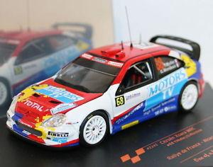 【送料無料】模型車 スポーツカー スケールシトロエンクサララリードフランスダイカストモデルvitesse 143 scale 43243 citroen xsara wrc rallye de france 2010 diecast model