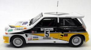 【送料無料】模型車 スポーツカー uh 143ダイカスト rally88ルノー5マキシターボコスタブラバラリーuh 143 scale diecast rally88 renault 5 maxi turbo costa brava rally
