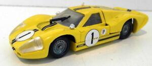 【送料無料】模型車 スポーツカー verem143ダイカスト 615フォードgt40ルマンverem 143 scale diecast 615 ford gt40 le mans car in yellow