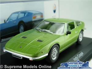 【送料無料】模型車 スポーツカー maserati indy coupe car model1969143 size ixo altaya green sports t34zmaserati indy coupe car model 1969 143 size ixo alta