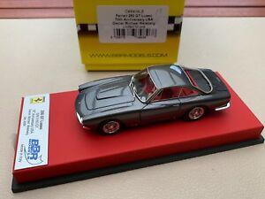 【送料無料】模型車 スポーツカー フェラーリbbr ferrari 250 gt lusso ch 5163gt 70 years anniversary 143 red leather