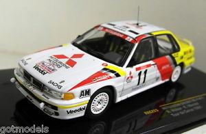 【送料無料】模型車 スポーツカー ixo 143rac223vr411de1991ダイカストixo 143 scale rac223 mitsubishi galant vr4 11 tour de corse 1991 diecast car