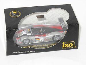 【送料無料】模型車 スポーツカー アウディチームヨーストルマン#クルムピーターヴェルナー143 audi r8 team joest le mans 24 hrs 2002 3  krumm peter werner