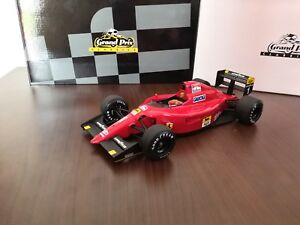 【送料無料】模型車 スポーツカー フェラーリプロストボックスミントferrari 6412 a prost exoto 118 ** top bnib ** mint in box mib **