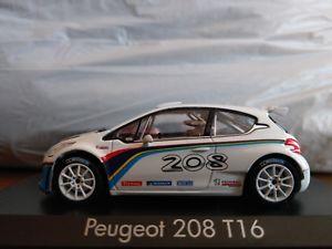【送料無料】模型車 スポーツカー プジョーテストカー143 norev peugeot 208 t16 test car