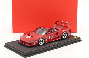 【送料無料】模型車 スポーツカー フェラーリ#ジャンアレジferrari f40 lm 60 imsa 1990 jean alesi 118 bbr