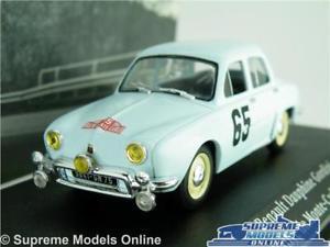 【送料無料】模型車 スポーツカー ルノーカーモデルネットワークアトラスモンテカルロラリーrenault dauphine gordini car model 143 1958 ixo atlas monte carlo rally 65 t4