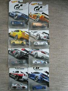 【送料無料】模型車 スポーツカー hot wheels gran turismo diecast collection of8cars on long card scale 164hot wheels gran turismo diecast collection of 8 c