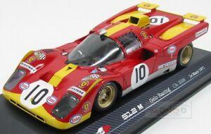 【送料無料】模型車 スポーツカー フェラーリチームレーシング#ルマンモデルモデルferrari 512m team gelo racing 10 le mans 1971 rare models 118 rare 18008 model