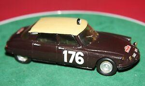 【送料無料】模型車 スポーツカー dm models 143hand built citroen ds id19monte carlo rally 1959resin modeldm models 143 hand built citroen ds id 19 monte ca