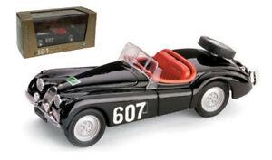 【送料無料】模型車 スポーツカー ジャガースパイダーラリーデッレアルピスケールbrumm jaguar xk120 spider 35l rally delle alpi 143 scale