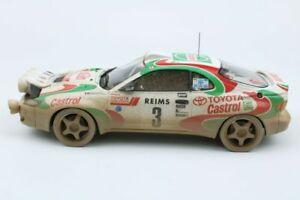 【送料無料】模型車 スポーツカー トヨタセリカグアテマララリーバージョントップマルケスモデルズtoyota celica gt4 mc93 rally 1st auriol dirty version ltd 118 top marques model
