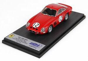 【送料無料】模型車 スポーツカー フェラーリマウスボタンハンドルクーペ#ルマンシアーズサケモデルferrari 330 lmb rhd coupe 12 le mans 1963 sears salmon bbr 143 car57g model