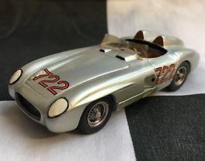 【送料無料】模型車 スポーツカー unknown 143hand built mercedes 300 slr722mille miglia 1955white metal modelunknown 143 hand built mercedes 300 slr 722 mil