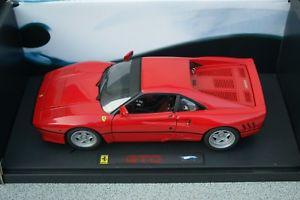 【送料無料】模型車 スポーツカー ホットホイールエリートフェラーリ118 hot wheels elite ferrari gto red