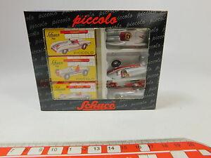 【送料無料】模型車 スポーツカー ピッコロシルバーアローメルセデスニップas2310, 5 schuco piccolo 190 01196 geschenkset silver arrow mercedes, nip