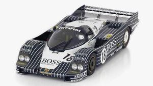 【送料無料】模型車 スポーツカー ポルシェボス#ルマンモデルスケールミニアチュアporsche 956 boss 18 24h le mans 1983 112 model true scale miniatures