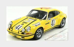 【送料無料】模型車 スポーツカー ポルシェクーペヒキガエルホールレーシング#ルマンスパークワックスporsche 911 st coupe toad hall racing 41 le mans 1972 spark 118 wax02100035 m
