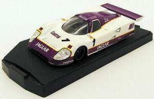 【送料無料】模型車 スポーツカー シマメノウ143スケールモデルjk9218fジャガーxjr11 1 brundleferteレズリーonyx 143 scale model car jk9218f jaguar xjr11 1 brundleferteleslie