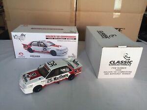 【送料無料】模型車 スポーツカー 118carlectablesホールデンvh hdt1983バサーストブロックハーヴェイ