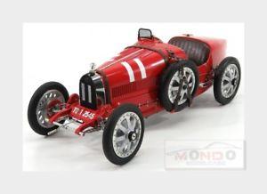 【送料無料】模型車 スポーツカー ブガッティ#プロジェクトイタリアモデルbugatti t35 11 nation coulor project italy 1924 red cmc 118 m100b001 model