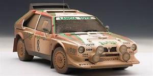 【送料無料】模型車 スポーツカー ランチアデルタs4 totip8ラリーsanremo1986cerratocerri118 aa88619lancia delta s4 totip 8 rally sanremo 1986 cerratocerri autoart 118 a