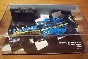 【送料無料】模型車 スポーツカー 143renault 2006f1 team r26 giancarlo fisichella143 renault 2006 f1 team r26 giancarlo fisichella
