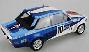 【送料無料】模型車 スポーツカー フィアット#トップマルケスモデルカーfiat 131 arbarth 10 mc winner 1980 walter rohrl 118 top marques model car