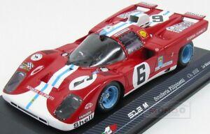【送料無料】模型車 スポーツカー フェラーリチームスクーデリアルマンモデルferrari 512m team scuderia filipinetti le mans 1971 rare models 118 rare 18006 m
