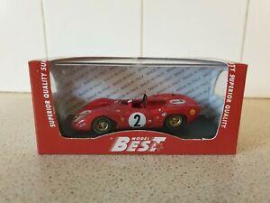 【送料無料】模型車 スポーツカー ベストモデルフェラーリスパイモンツァスケールモデルカーbest models  ferrari 312p spy  monza 1969  143 scale model car 9221