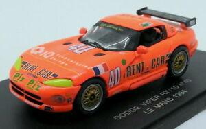 【送料無料】模型車 スポーツカー イーグルレーススケールモデルカーダッジバイパー#ルマンeagles race 143 scale model car 360900 dodge viper rt10 40 le mans 1994