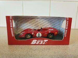 【送料無料】模型車 スポーツカー ベストモデルフェラーリスパイモンツァスケールモデルカーbest models  ferrari 312p spy  monza 1969  143 scale model car 9227