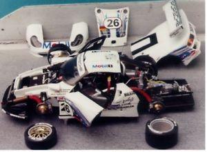 【送料無料】模型車 スポーツカー ポルシェルマン143 porsche 911 gt197 24 hours of le mans 1997 sold rise