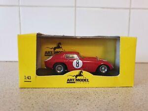 【送料無料】模型車 スポーツカー アートモデルフェラーリスパスケールモデルアートart models  ferrari 375mm spa 1953  143 scale model art087