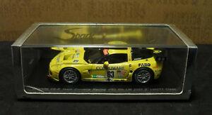 【送料無料】模型車 スポーツカー スパークモデルコルベットフェロー143 spark models corvette c6r 63 lm s0178 2007 fellowsoconnellmagnussen