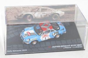 【送料無料】模型車 スポーツカー ルノーアルパインラリーサンレモ143 renault alpine a110 1800 rally sanremo 1973 jltherier jjaubert
